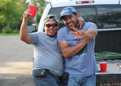 Leo and Fernando.