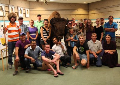 "Scandia Honey staff meeting ""Billy the Buffalo""."