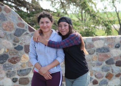 Teresa and her sister, Maria