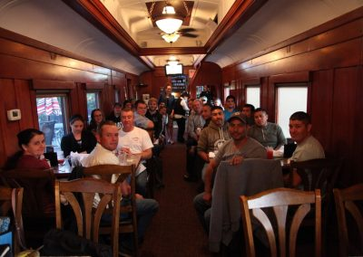 The 1887 Diefenbaker Dining Car!