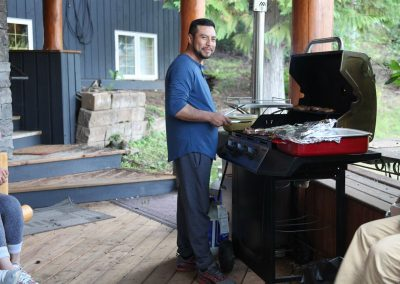 The master of the BBQ - Gabino.