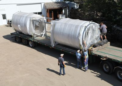 New tanks arriving!